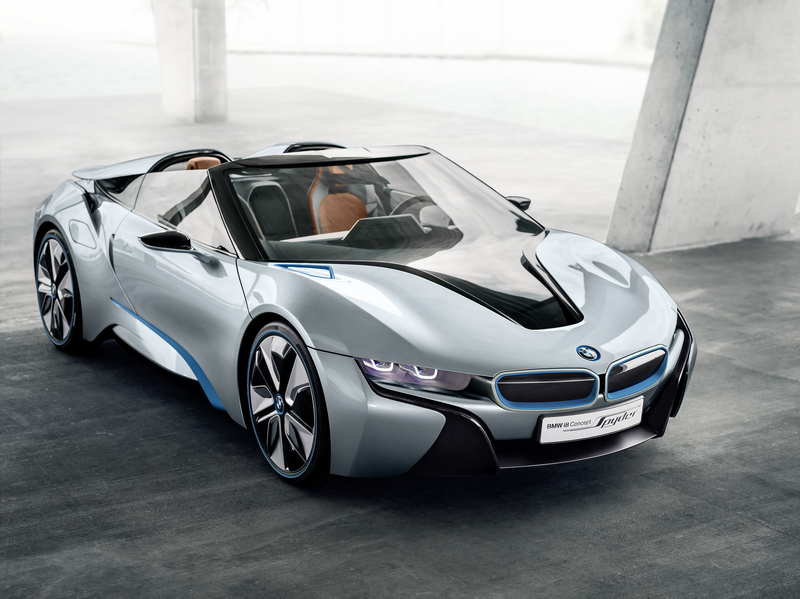 BMW i8 Spyder Concept Details Specs Released from BMWi