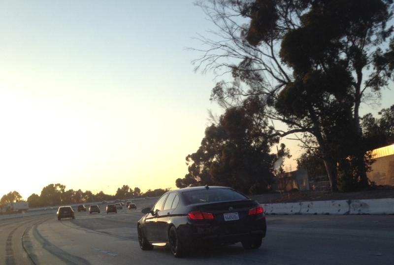 2013 BMW M5 F10 Last Minute Testing in LA Video