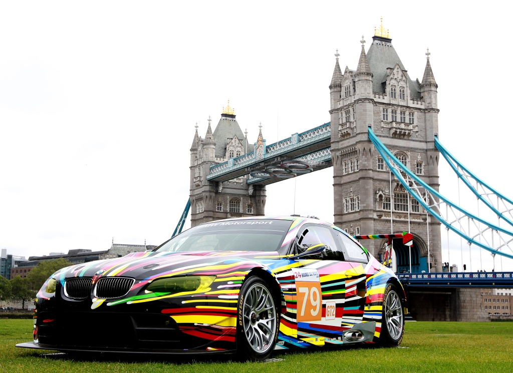 BMW ART DRIVE Showcases Art Collection in London
