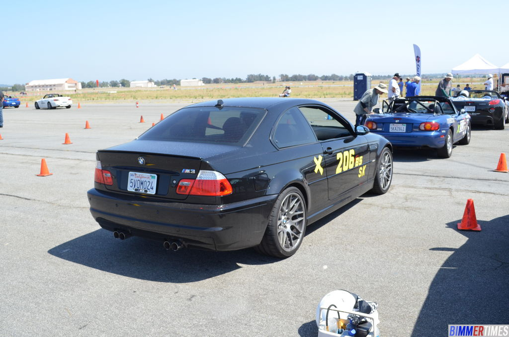 SCCA Autocross Event at El Toro Airfield Irvine BMW