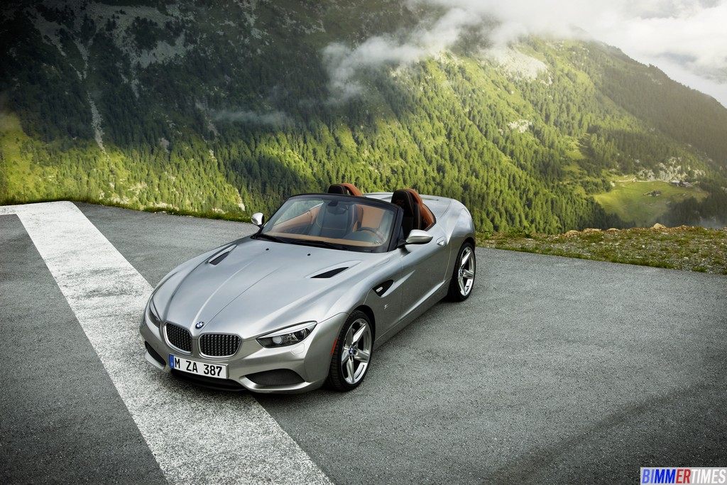 Photo Gallery: BMW Zagato Roadster Pictures