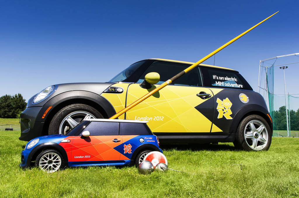 BMW ActiveE MiniE and MINI Mini RC Supporting 2012 London Olympics