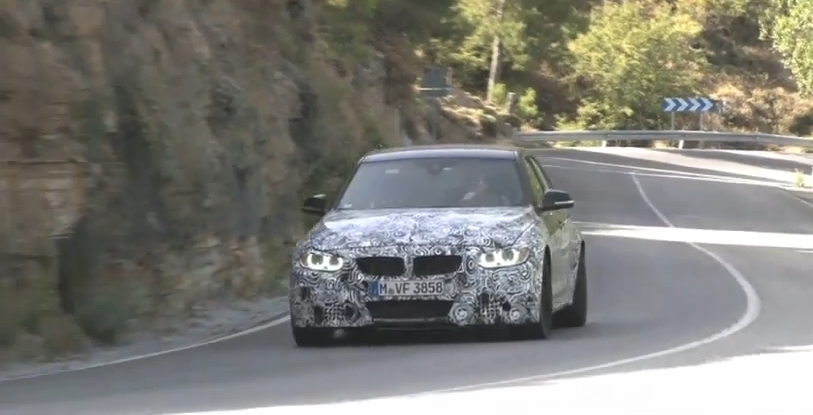 F80 Video: 2014 BMW M3 Engine Sound Spied Testing