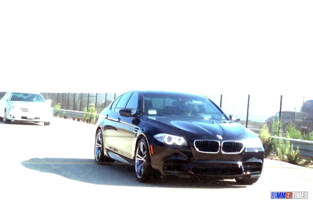 SPOTTED: 2013 BMW M5 Video – One of the First Customer Cars in USA