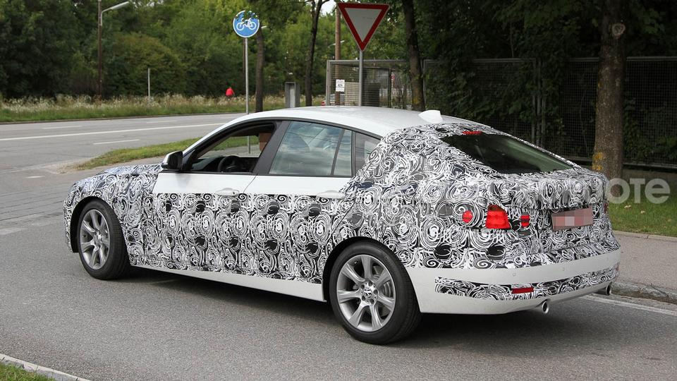 Spy Shots: BMW 335i GT based on the 3 Series Sedan