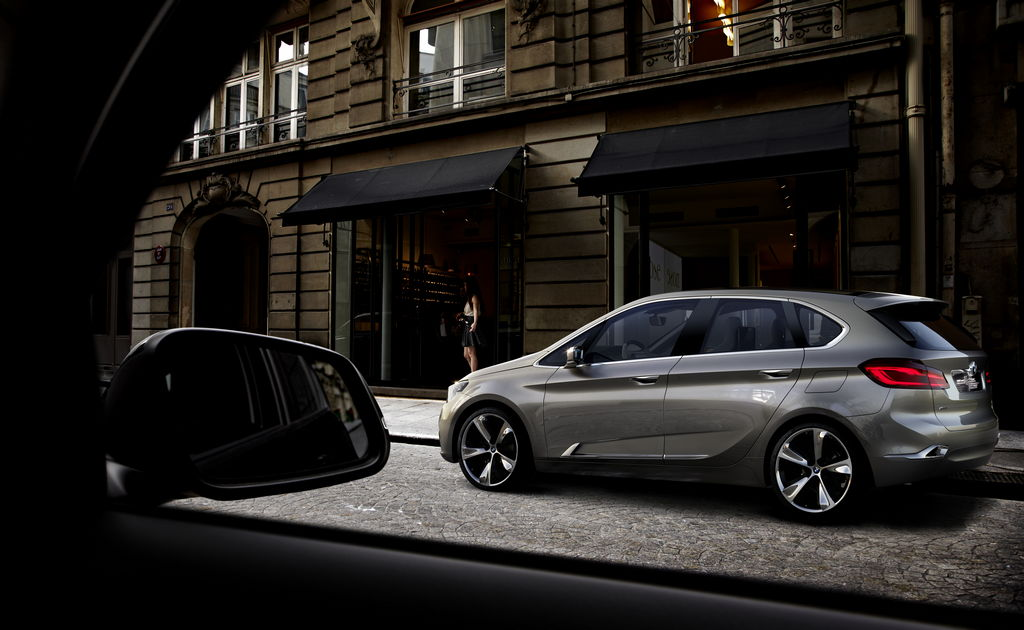 CONCEPT: BMW Active Tourer Concept Car ahead of 2012 Paris Auto Show