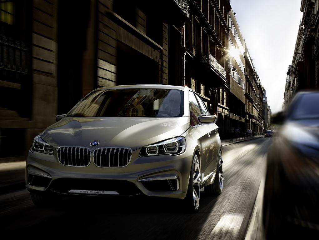 CONCEPT: BMW Active Tourer Concept Car ahead of 2012 Paris Auto Show ...