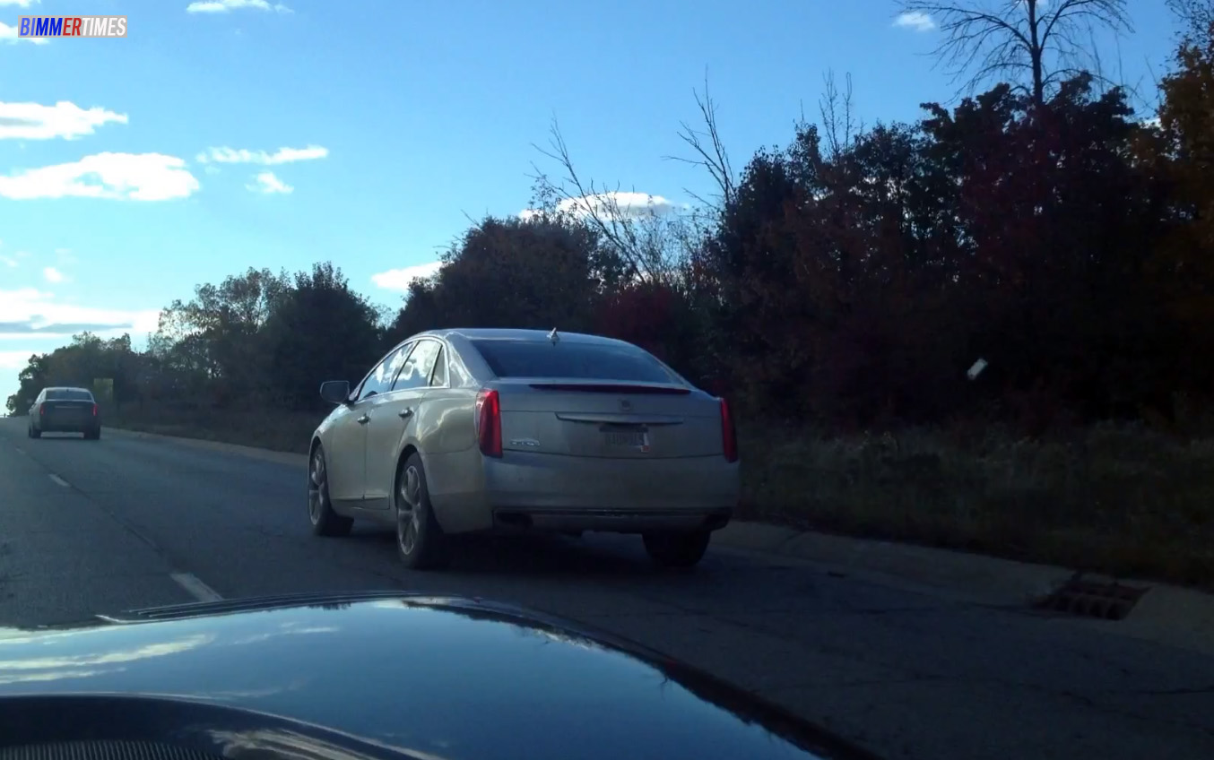 Spy Video: Cadillac XTS-V Line Road Testing in Detroit