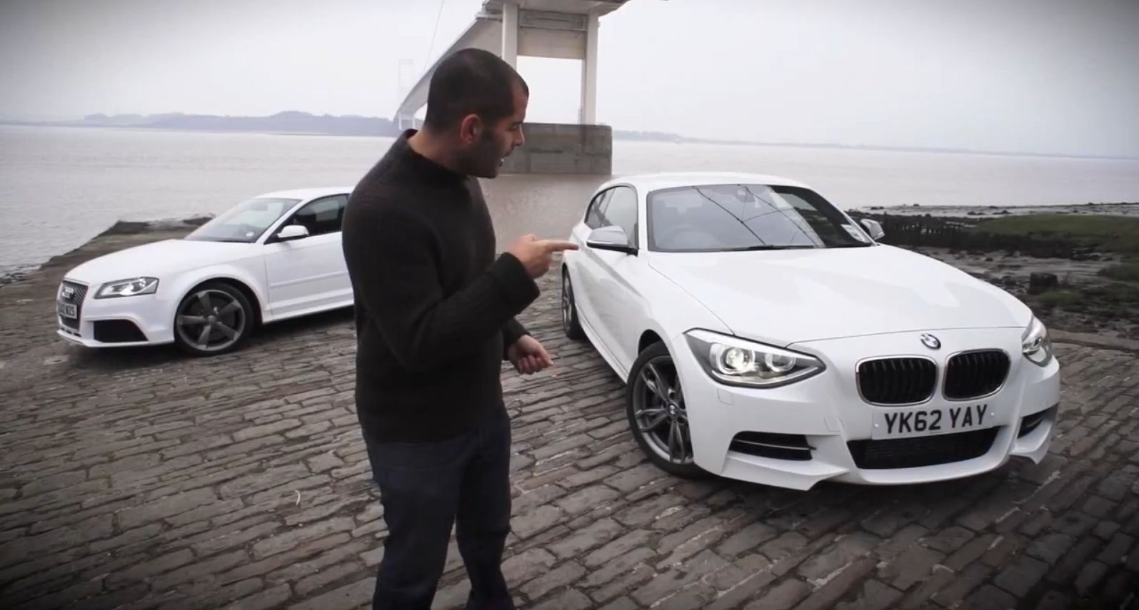 COMPARISON: 2013 BMW M135i vs Audi RS3 Chris Harris