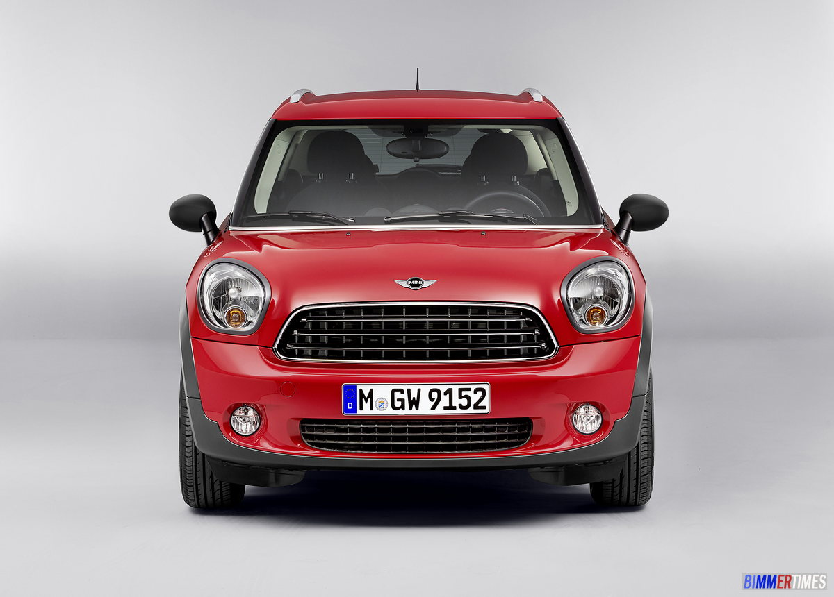 FACELIFT 2013 MINI Countryman including Cooper S and John Cooper Works