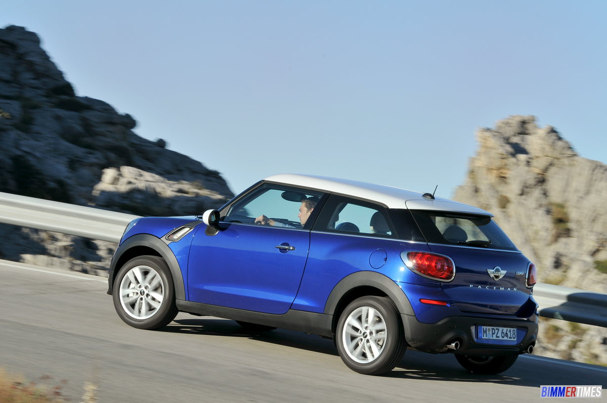 PICTURES: 2013 Mini Paceman Photo Gallery
