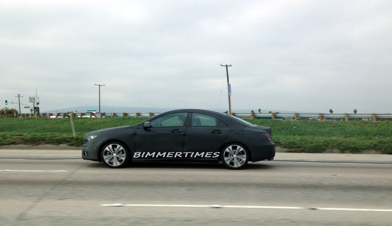 SPIED: 2014 Mercedes-Benz CLA Spy Shots ahead of BMW 3 Series Gran Coupe