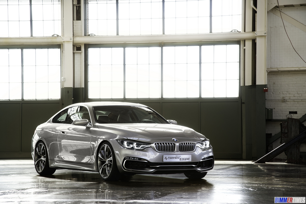 PHOTO GALLERY: 2014 BMW 4 Series Coupe Pictures