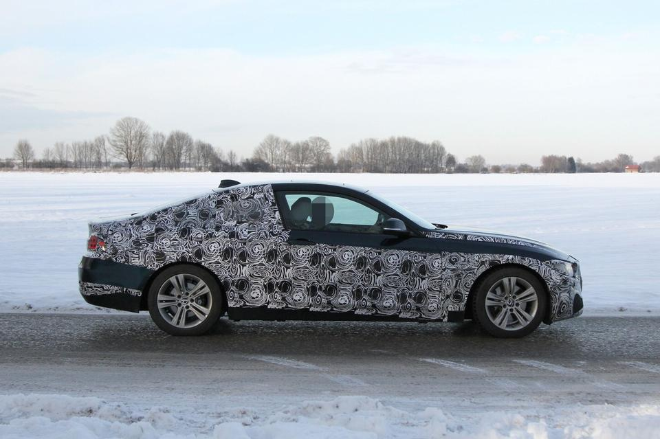 BMW 428i 435i 430d Last Minute Testing after 4 Series Coupe Concept