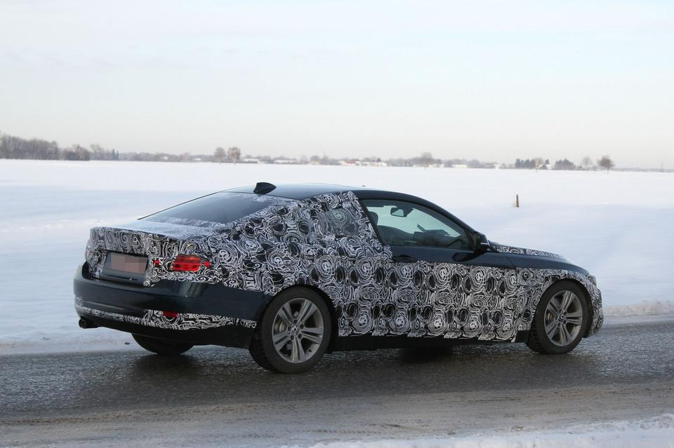 BMW 428i 435i 430d Last Minute Testing after 4 Series Coupe Concept Release
