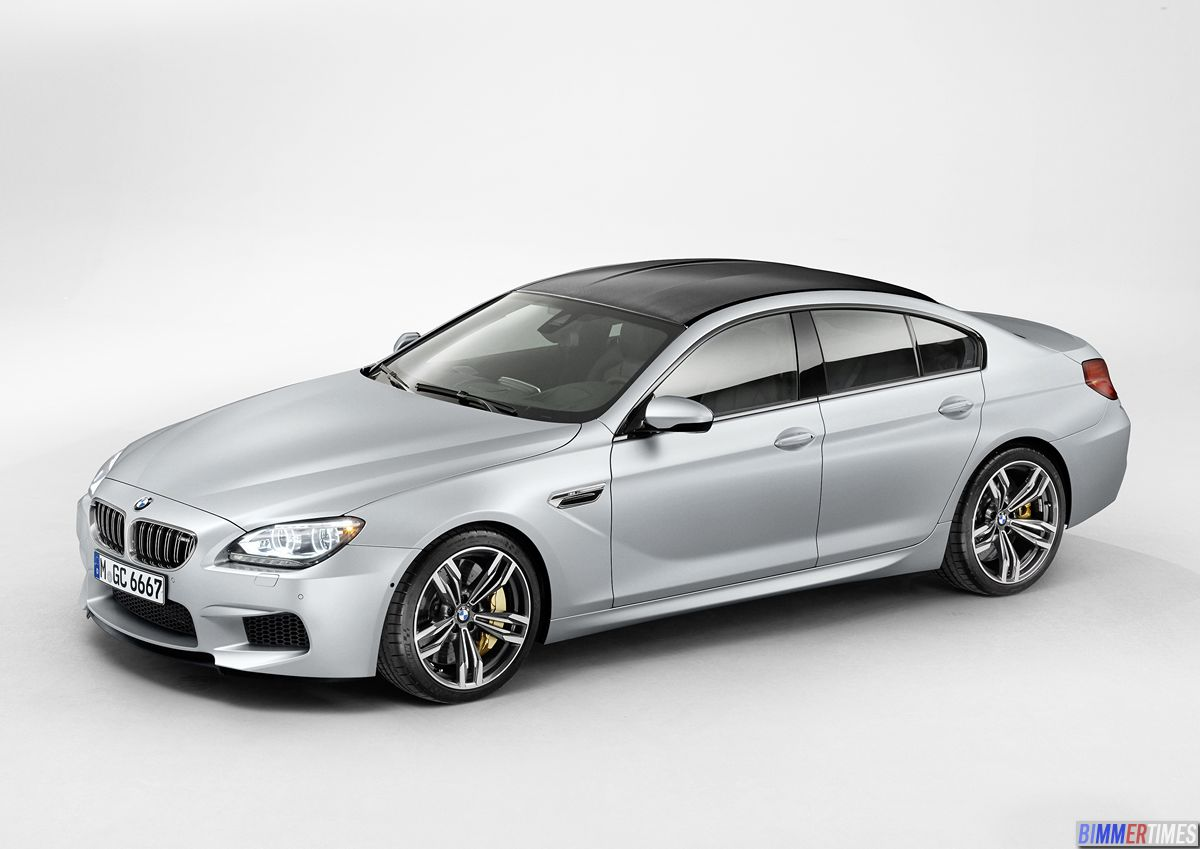 OFFICIAL DEBUT: 2014 BMW M6 Gran Coupe Available Summer 2013