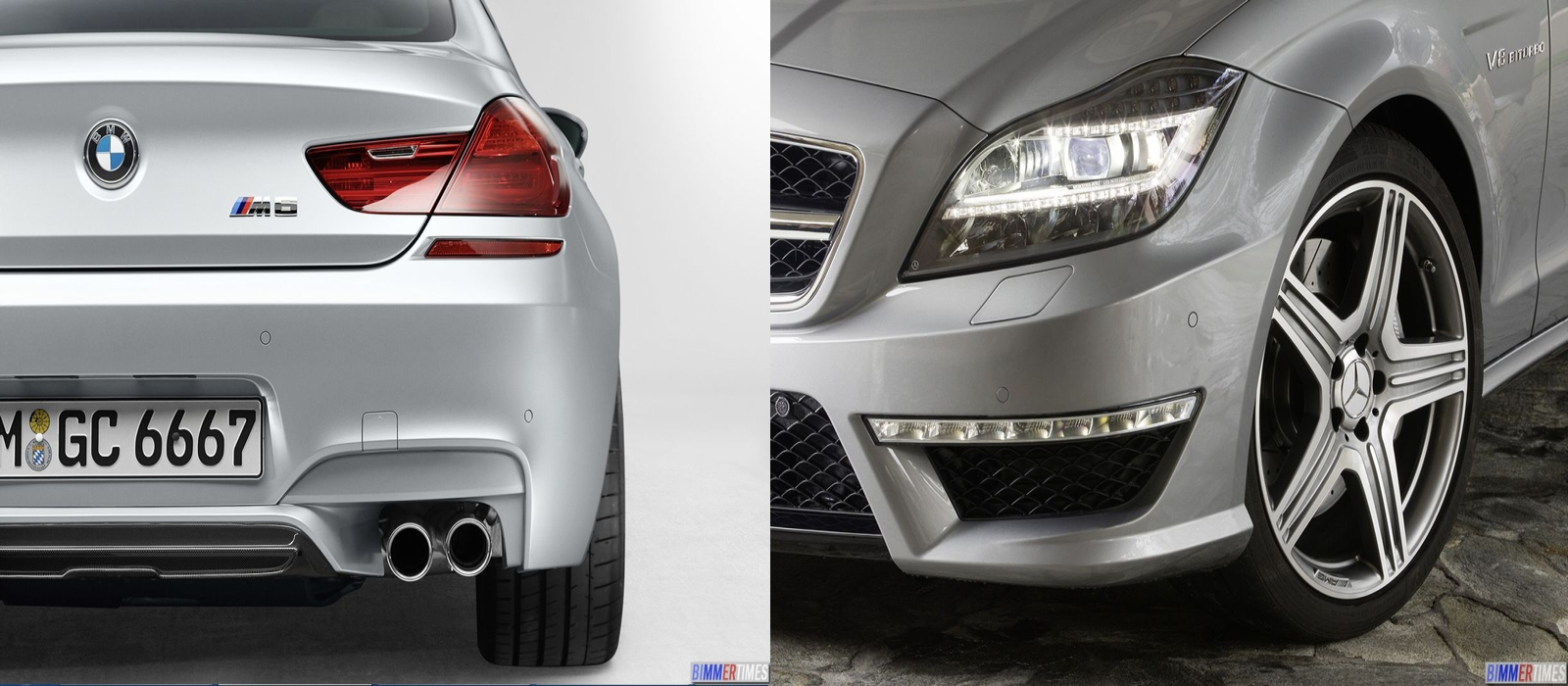 COMPARISON: 2013 Mercedes-Benz CLS63 AMG vs 2013 BMW M6 Gran Coupe Sedan