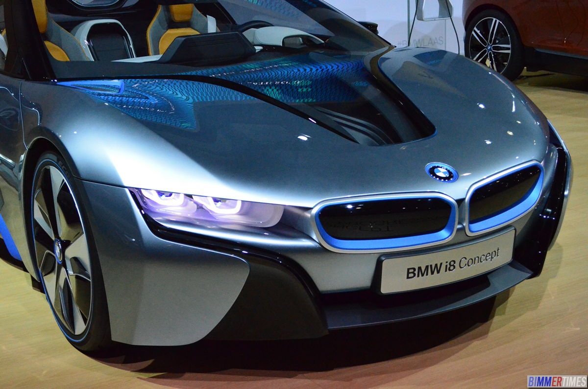 PHOTO GALLERY: BMW i8 Spyder, i3 Coupe, M5 F10, Alpina B7, Mini GP