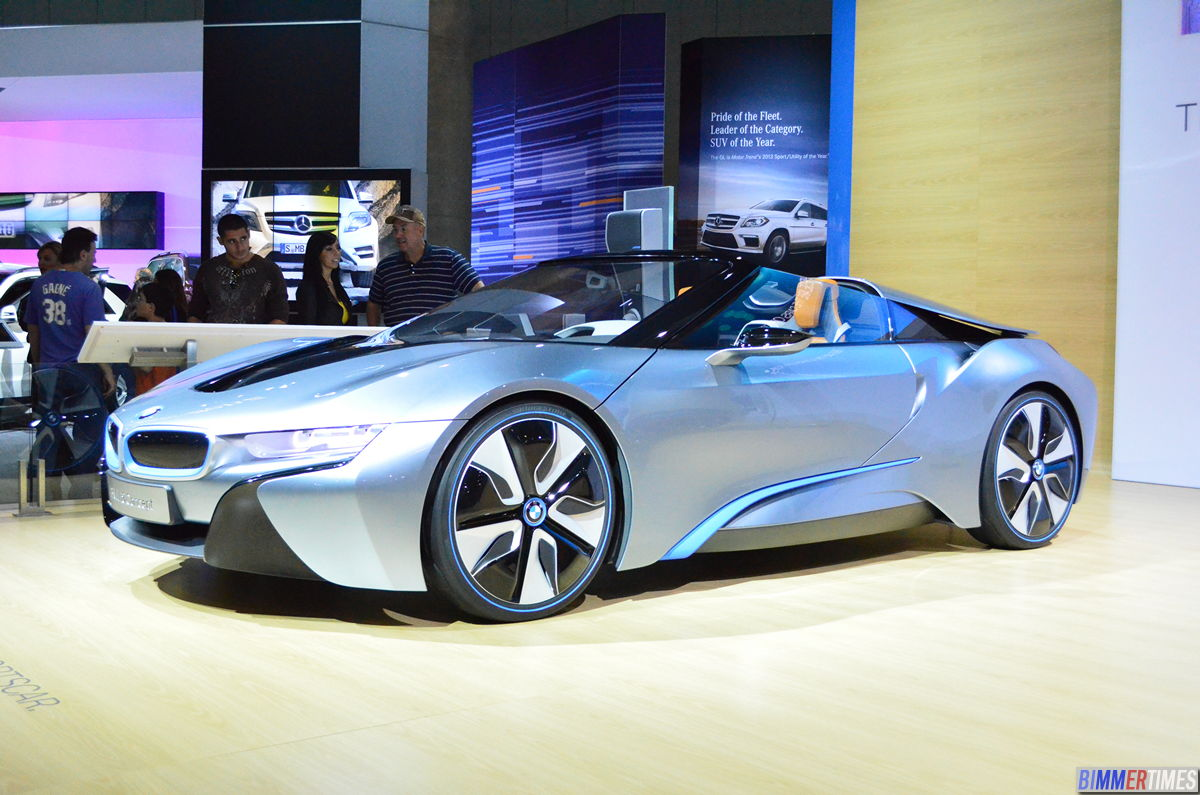 SPECULATION: BMW i8 Spyder Powered by BMW M5 Engine with 600hp+
