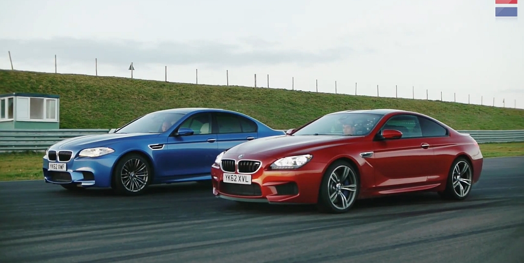 VIDEO: 2013 BMW M6 Coupe vs 2013 BMW M5 Sedan