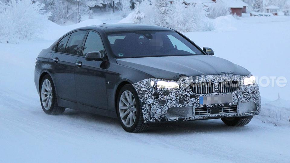Facelift 2013 BMW 5 Series Sedan and Touring Wagon
