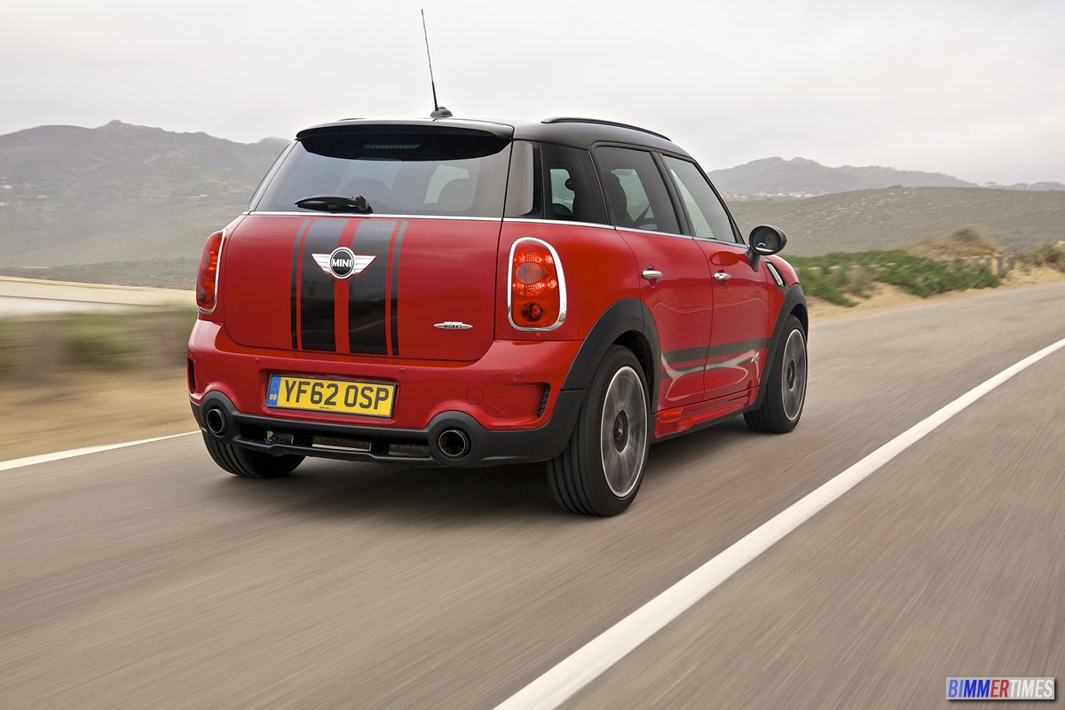 PHOTO GALLERY: 2013 MINI Countryman John Cooper Works Pictures