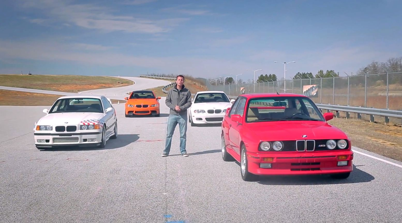 Video Bmw E30 M3 Vs E36 M3 Lightweight Vs E46 M3 Coupe Vs