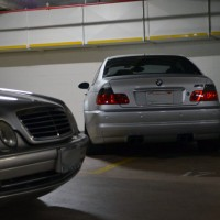 CLK55 AMG W208 vs BMW M3 E46 Over a Decade Later